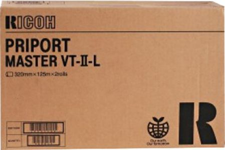 Ricoh мастер-пленка Priport Master Type VT–II–L, 2 рулона 893952 Ricoh