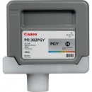 Картридж Canon PFI-302PGY (photo gray) 330 мл