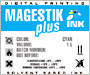 MagestikPlus JV5 ECO Solvent (cyan)