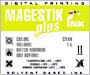 MagestikPlus JV5 ECO Solvent (yellow)