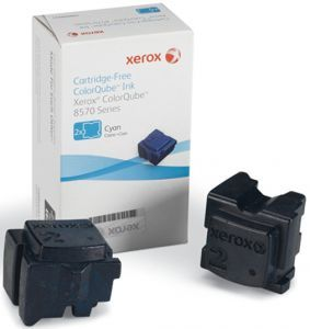 Чернила Xerox Cartridge-Free ColorQube 8570 (cyan), 4400 стр. 108R00936 Xerox