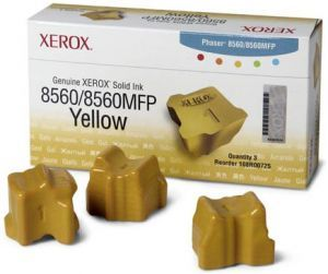 Чернила Xerox Solid Ink Phaser 8560 (yellow) набор, 3 x 1000 стр. 108R00766 Xerox