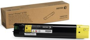 Тонер-картридж Xerox Toner Cartridge Phaser 6700 (yellow), 12000 стр. 106R01525 Xerox